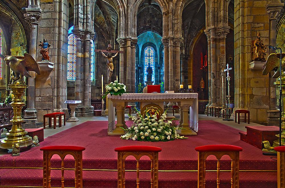 Altar Iglesia Santa Maria Castro Urdiales