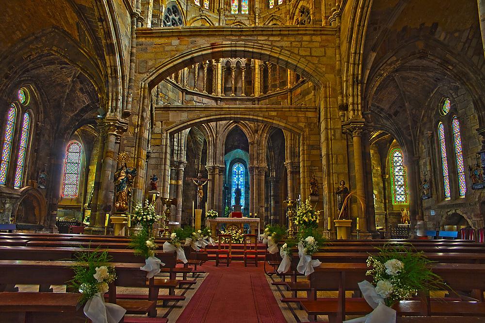 Interior Iglesia Santa Maria Castro Urdiales