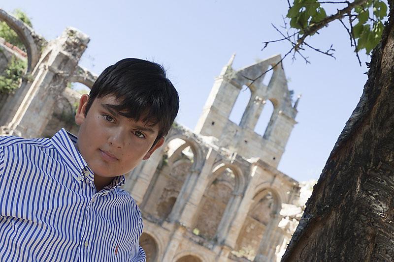 chico en Rio Seco