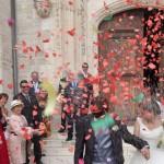 Salida novios en San Nicolas de Bari