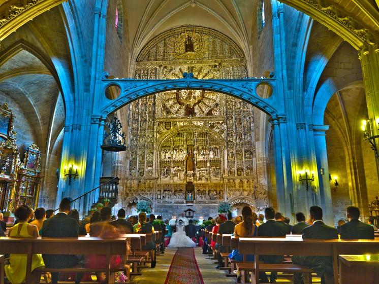 Boda en la iglesia de San Nicolas de Bari